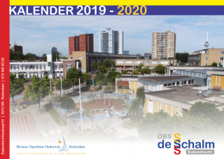 Schoolkalender 2019- 2020