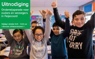 Uitnodiging Onderwijsparade  2019